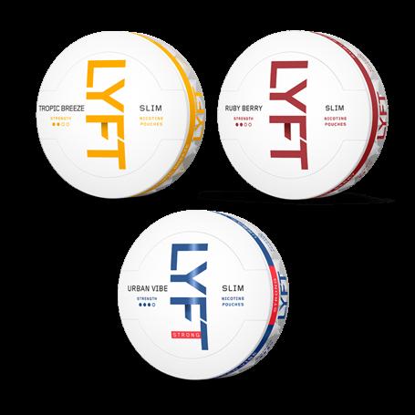 Lyft Flavorful Mixpack Nikotinbeutel