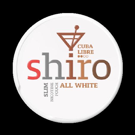 Shiro Cuba Libre Slim Normal Nikotinbeutel