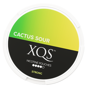 XQS Cactus Sour Slim Stark Nicotine Pouches