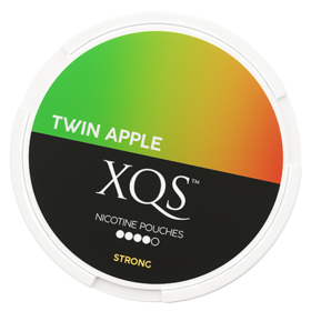 XQS Twin Apple Slim Stark Nikotinbeutel