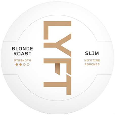 Lyft Blonde Roast Slim Stark