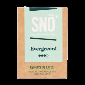 SNÖ Evergreen Mini Stark Nikotinbeutel