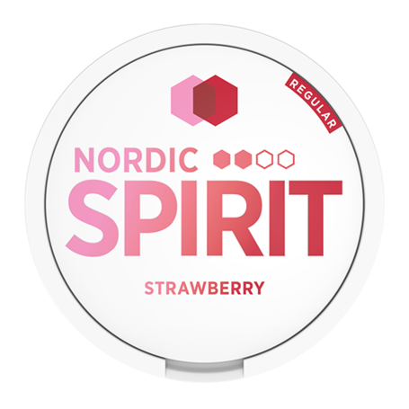 Nordic Spirit Strawberry Slim Normal Nikotinbeutel