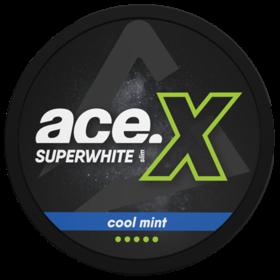 Ace Superwhite X Cool Mint Slim Extra Stark