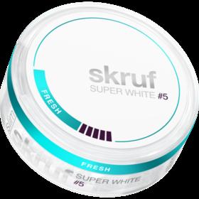 Skruf Super White Fresh #5 Slim Extra Stark