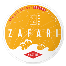 Zafari Red Sea Orange 10mg Slim Extra Stark