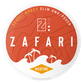 Zafari Sunset Mango 4mg Slim Normal