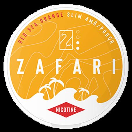 Zafari Red Sea Orange Slim Normal