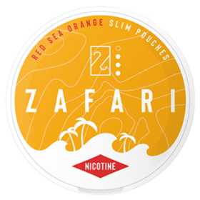 Zafari Red Sea Orange 6mg Slim Normal