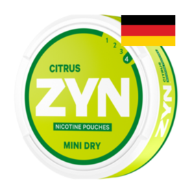 Zyn Citrus 6mg Mini Normal Deutschland