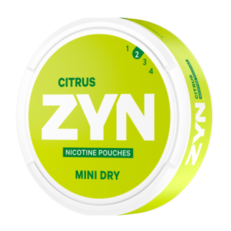 Zyn Citrus 3mg Mini Light Deutschland