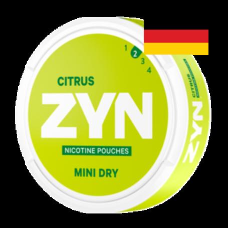 Zyn Citrus 3mg Mini Light Deutschland