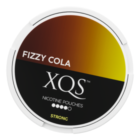 XQS Fizzy Cola Slim Extra Stark Nicotine Pouches