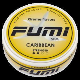 Fumi Caribbean Slim Stark Nikotinbeutel