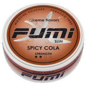 Fumi Spicy Cola Slim Stark Nikotinbeutel