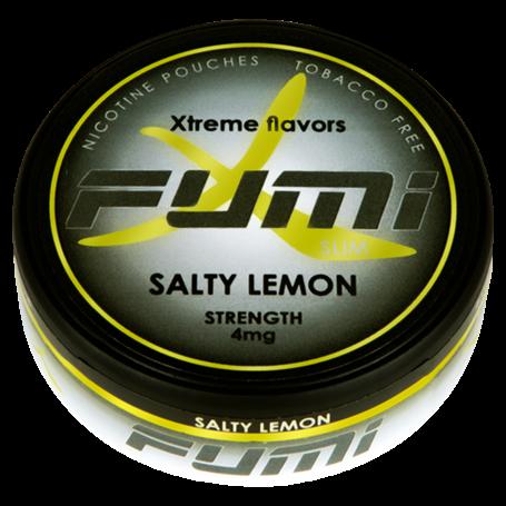 Fumi Salty Lemon Slim Normal Nikotinbeutel