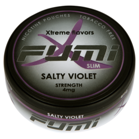 Fumi Salty Violet Slim Normal Nikotinbeutel