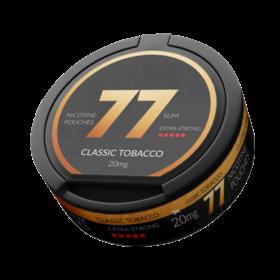77 Classic Tobacco Slim Extra Stark