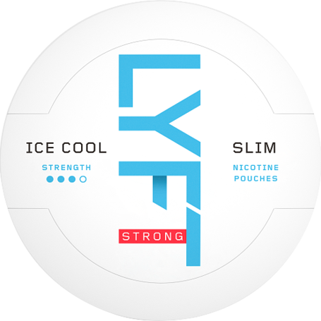 Lyft Ice Cool Mint Slim Strong Nikotin Pouches