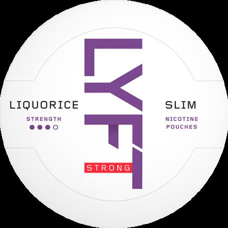 Lyft Liquorice Slim Strong Nikotin Pouches