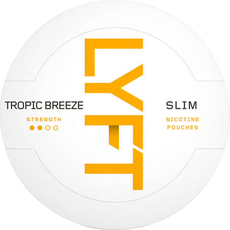 Lyft Tropic Breeze Slim Normal Nikotin Pouches
