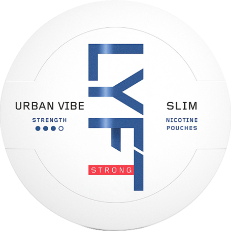 Lyft Urban Vibe Slim Strong Nikotin Pouches