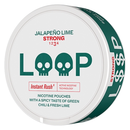 LOOP Jalapeno Lime Slim Strong Nikotin Pouches