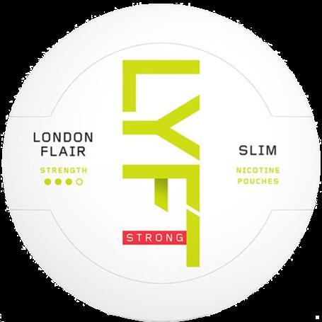 Lyft London Flair Slim Strong Nicotine Pouches