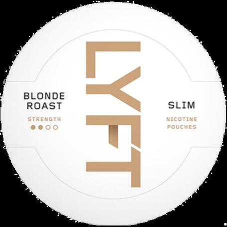 Lyft Blonde Roast Slim Normal Nikotin Pouches