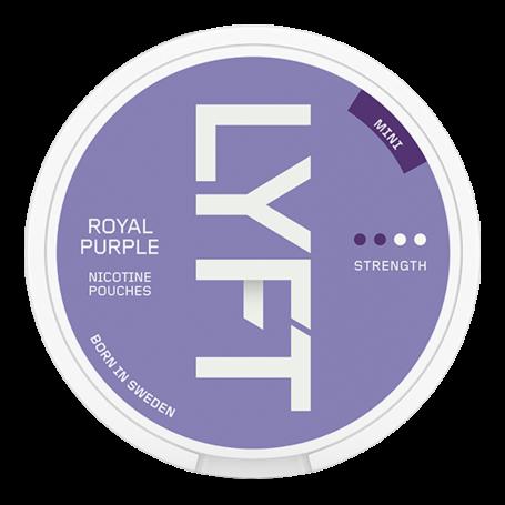 Lyft Royal Purple Mini Normal Nikotin Pouches