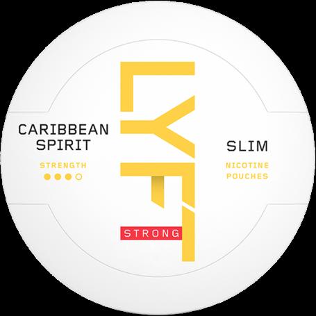 Lyft Caribbean Spirit Slim Strong Nikotin Pouches