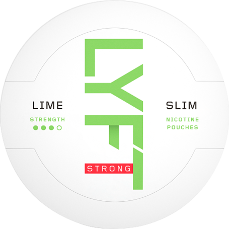 Lyft Lime Slim Strong