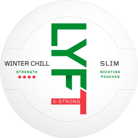 Lyft Winter Chill Slim Extra Strong
