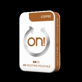 On! Coffee 3mg Mini Less Intense Nicotine Pouches