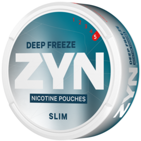 Zyn Deep Freeze Slim Extra Strong