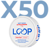 LOOP Mint Mania Slim Extra Strong Valuepack - 50 Cans