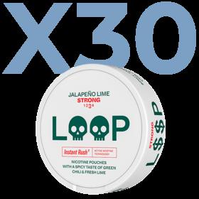 LOOP Jalapeño Lime Slim Strong Valuepack - 30 Cans