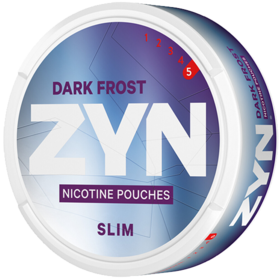 Zyn Dark Frost Slim Extra Strong