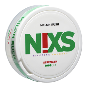 N!xs Melon Rush Large Normal Nicotine Pouches