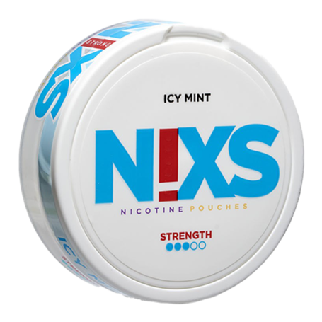 N!xs Icy Mint Large Strong Nicotine Pouches