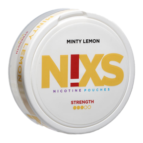 N!xs Minty Lemon Large Strong Nicotine Pouches