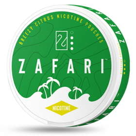 Zafari Breezy Citrus 6mg Slim Normal Nicotine Pouches