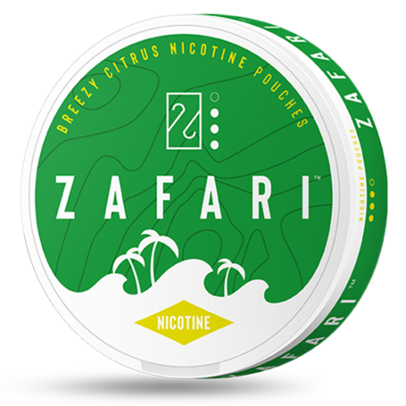 Zafari Breezy Citrus Slim Normal Nicotine Pouches