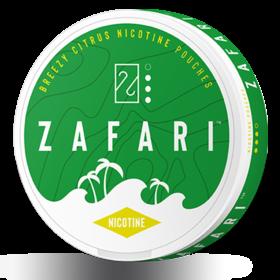 Zafari Breezy Citrus 6mg Slim Normal Nicotine Pouches