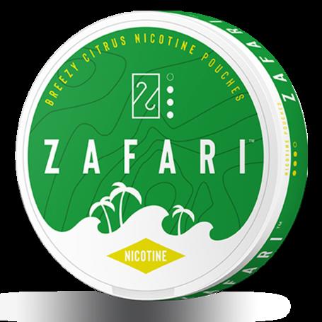 Zafari Breezy Citrus Slim Normal Nicotine Pouches