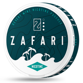 Zafari Desert Mint 6mg Slim Normal Nicotine Pouches