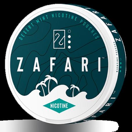 Zafari Desert Mint Slim Normal Nicotine Pouches