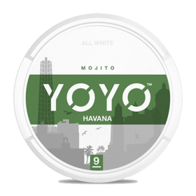 YOYO Havana Slim Normal Nicotine Pouches
