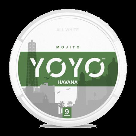YOYO Havana Slim Normal Nicotine Pouches