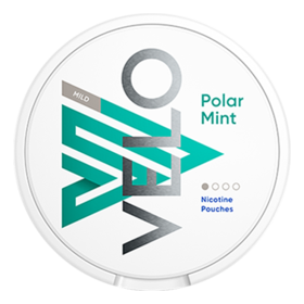 Velo Polar Mint Slim Less Intense Nicotine Pouches